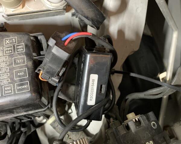 タントL375ヘッドライト交換18