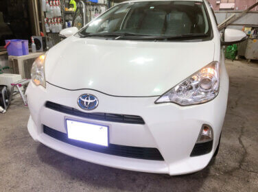トヨタ アクア NHP10