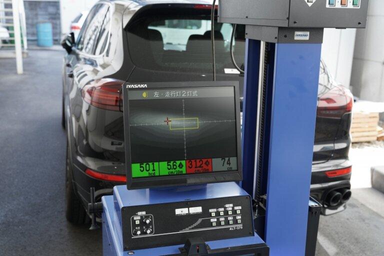 プレオ専用(IH01)LEDヘッドライトのテスト