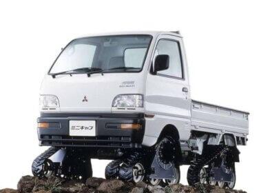 ミニキャブトラック クローラー