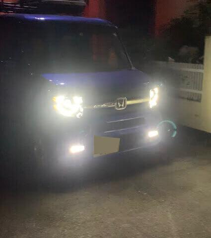 N-VANヘッドライト移植